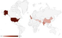 Films released in the UK by country of origin Jan - March 2012
